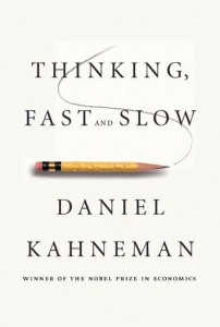 Book cover: Thinking Fast and Slow