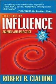 Book cover: Influence: The Psychology of Persuasion